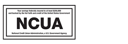 NCUA and Equal Housing Lender logos